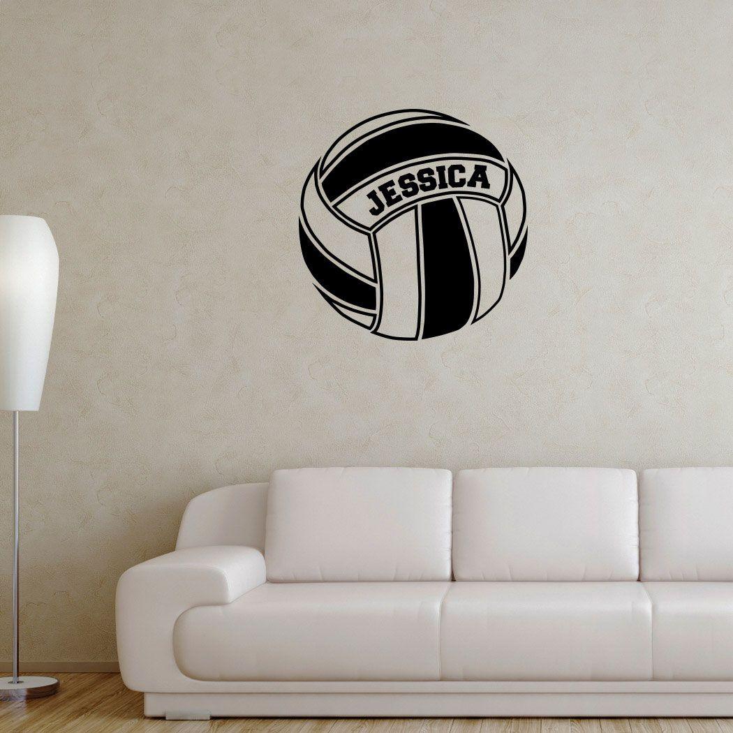 Pin By Kukushaka On Volleyball Bedroom Wall Stickers Bedroom Volleyball Bedroom Volleyball