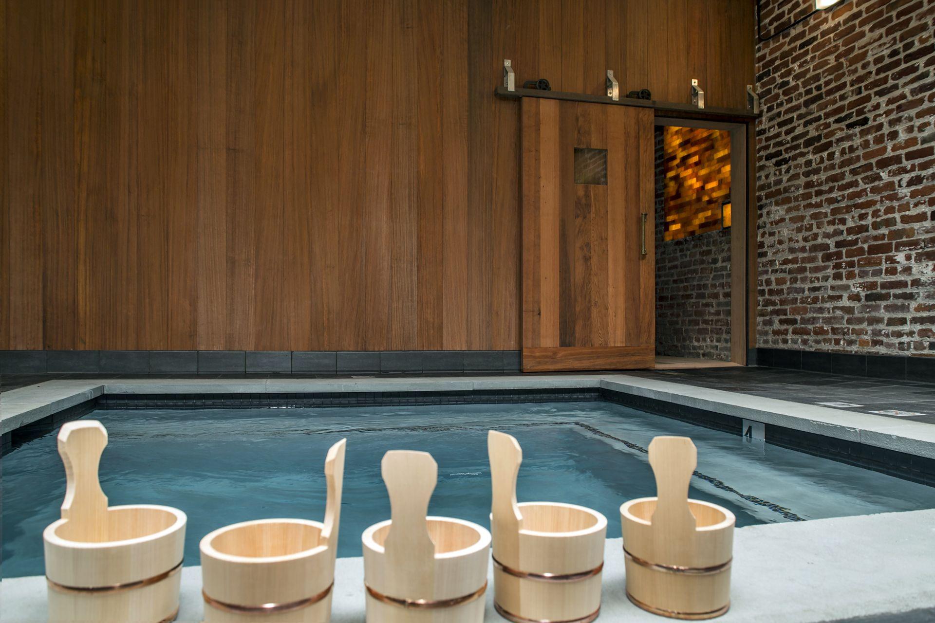 Japanese bath house onsen bath onsen