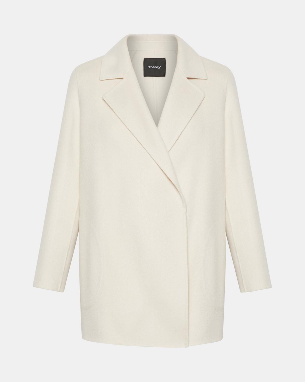 Wool cashmere flannel jacket  Theory WoolCashmere Clairene Jacket  Fall Fashion Wishlist