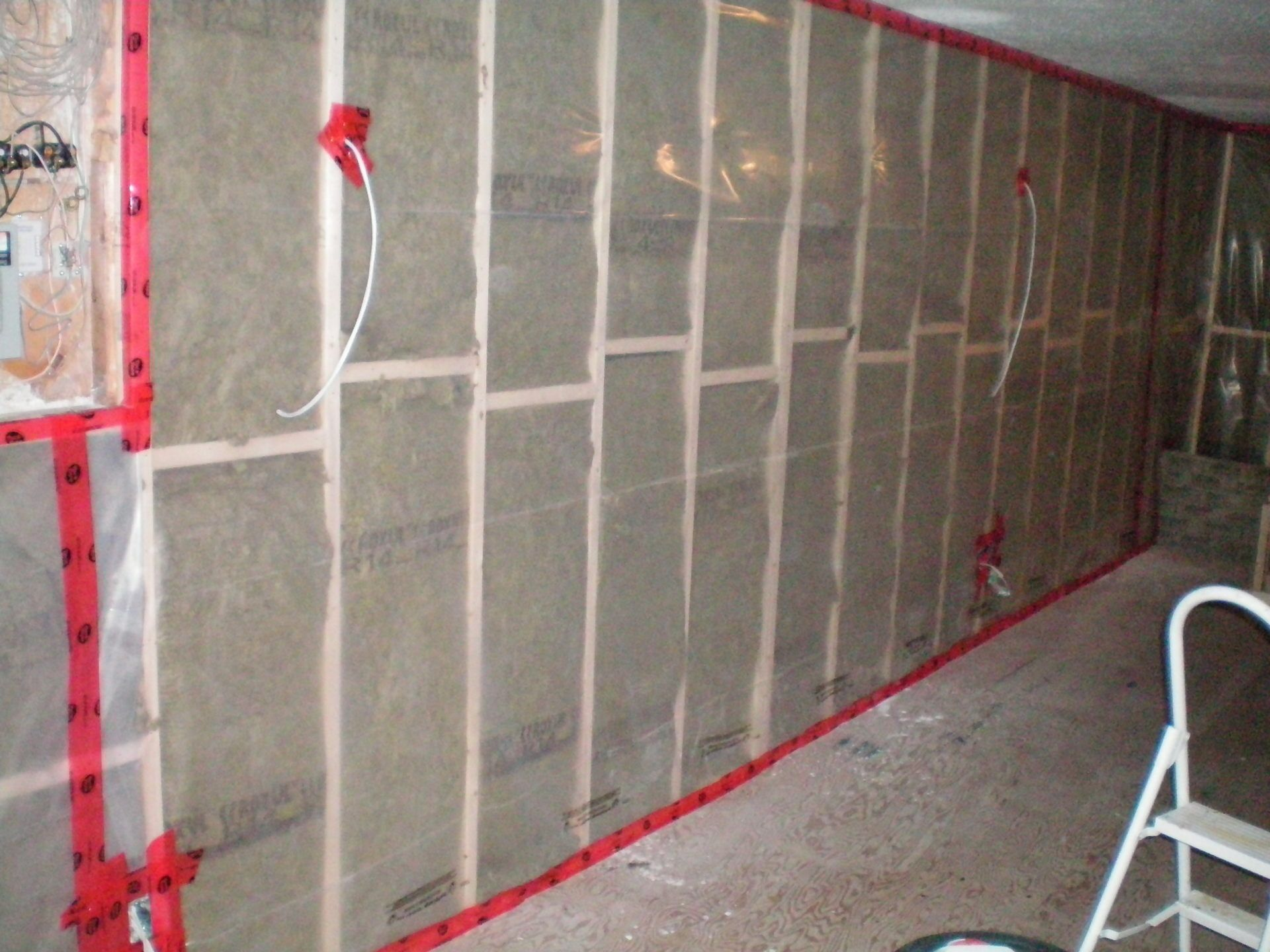 Moisture Barrier Concrete Basement Walls   The Cracks In Your Basement Wall  Wonu0027t Normally Weaken The Arrangement Of Your Base, But They Will Cause  Other D Pictures