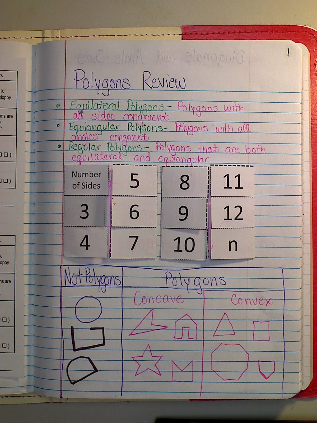 Mrs Atwood S Math Class Polygon Angle Sum Theorem