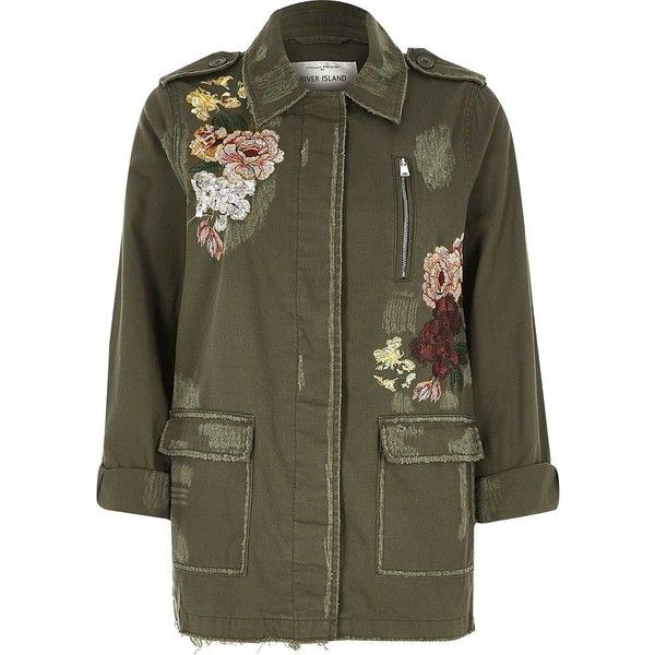 Up cycled Brown jacket, Puffy collar coat, Orient Floral Design jacket by Dat Jam clothing