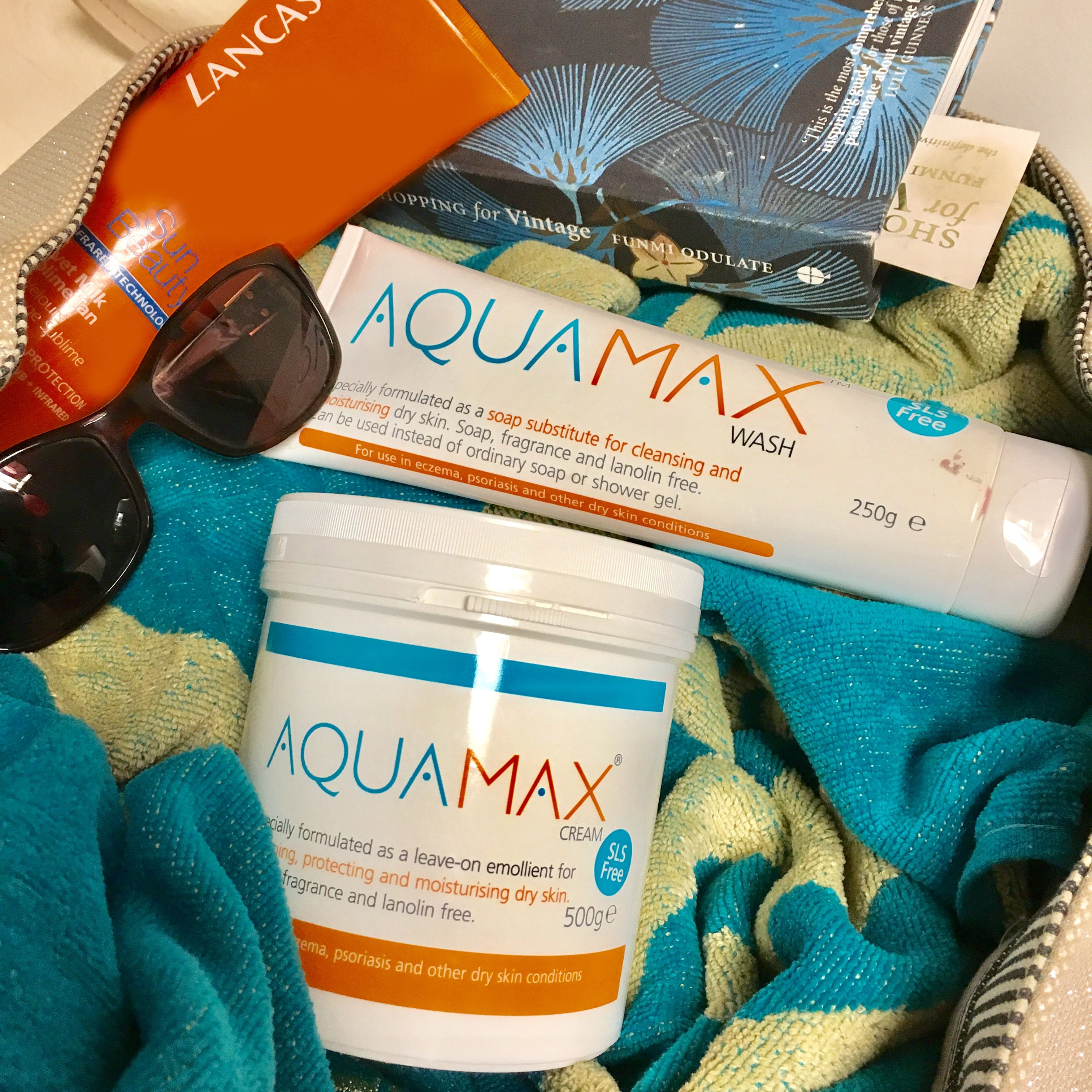 Aquamax emollient range, specially formulated to help