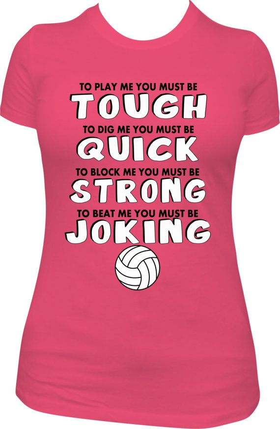 91d2ebb32f Volleyball T-shirt, Volleyball Tee, Volleyball Shirt, Volleyball Wording T- shirt, Sport T-shirt, Pin