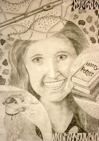 Pin By Michelle Mcgrath On Teach Art Projects Self Portrait Art Art Drawings For Kids Art Lessons