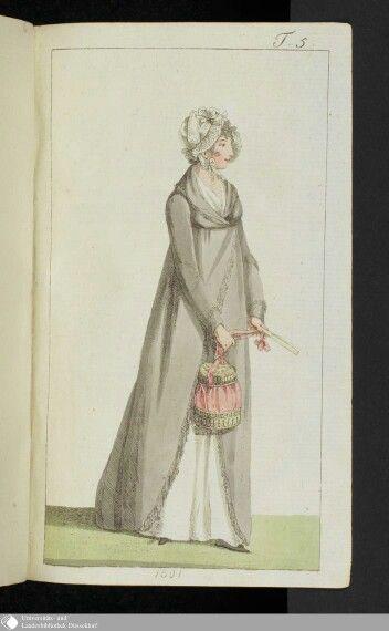 Februar 1801  Journal des Luxus under der Moden