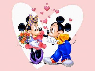 Lindos Y Tiernos Dibujos Animados De Amor Para Descargar Imagenes Mickey Y Minnie Imagenes De Mickey Personajes De Dibujos Animados De Disney
