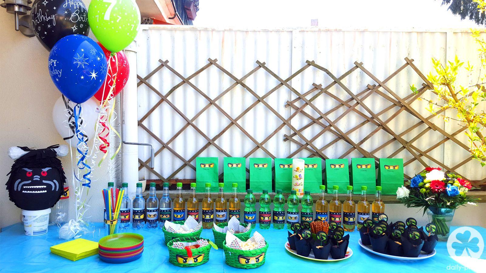 Ninjago Geburtstag