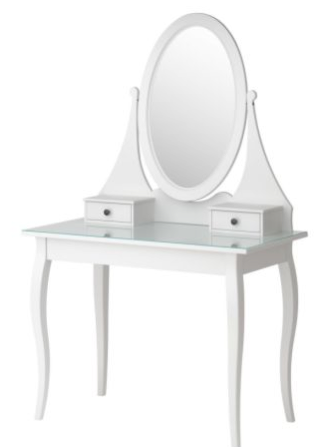I Always Wanted To Have This Table For All My Makeup And Jewellery