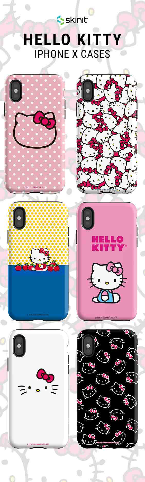 detailed look f1e48 d15aa Shop cute Hello Kitty designs now! Explore Hello Kitty iPhone X Case ...