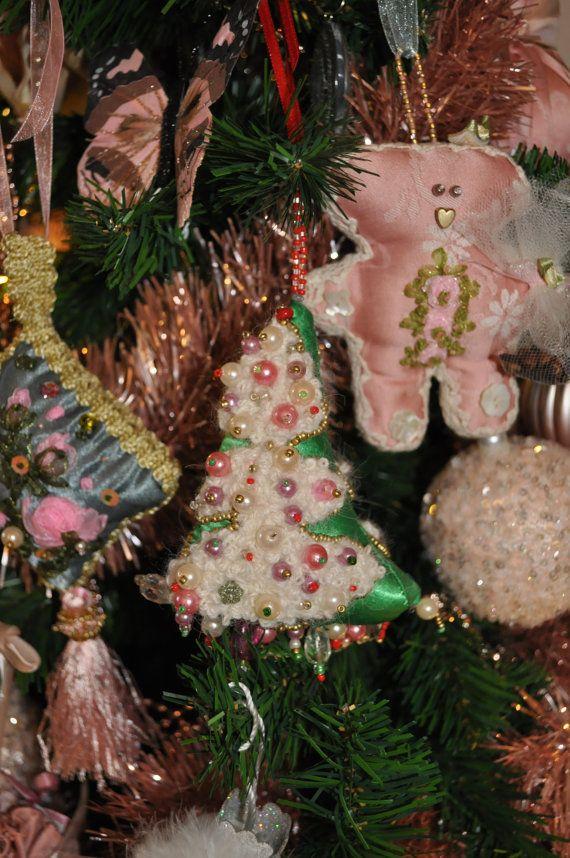 adornos navidad adorno navidad tela arbol navidad tela Etsy- gifts