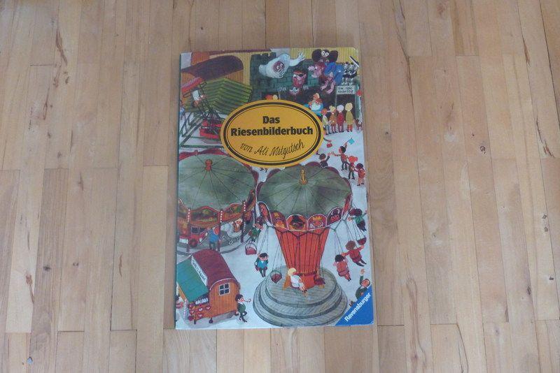 Das Riesenbilderbuch, Ali Mitgutsch von HelloPolly auf DaWanda.com