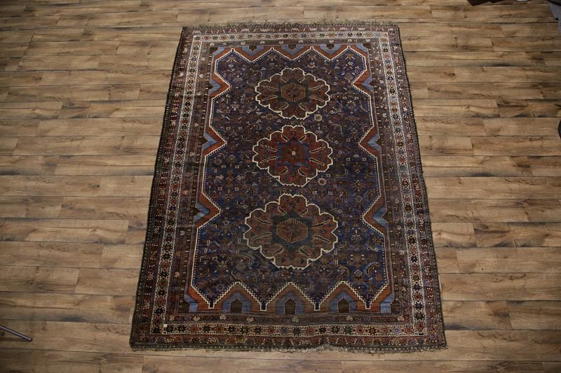 Antique 7x10 Abadeh Persian Area Rug Online Unlimited Source Of Oriental