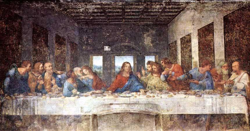 The Last Supper Leonardo Da Vinci Famous Art Graphic Print Canvas Tote Bag