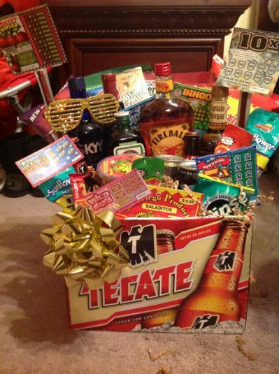 Mens Gift Basket Birthday