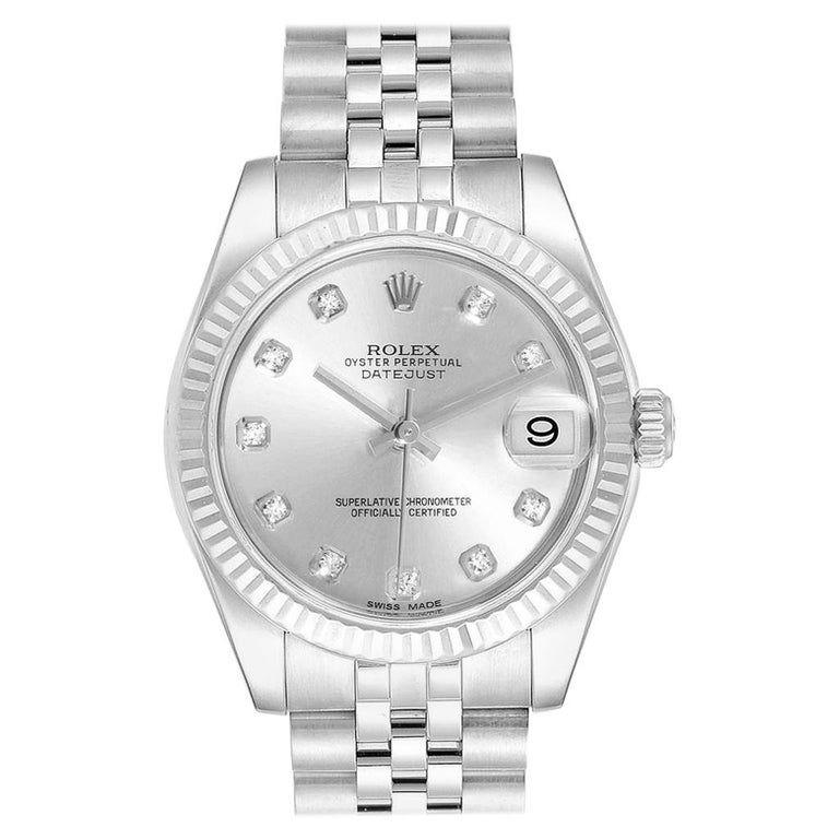 Rolex - Datejust Midsize 31 Gold Ladies Watch 178274 Diamond Steel #rolexwatches