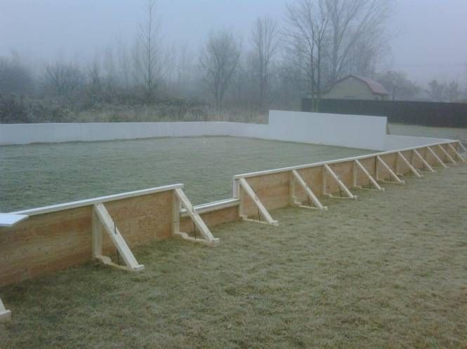 Backyard Ice Rinks. Build A Home Ice Rink And Bring On The Hockey!