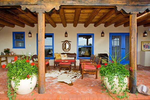 classic santa fe interior design stivers smith on best colors for home interior id=49311