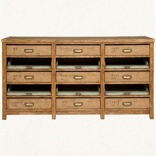vintage type drawers