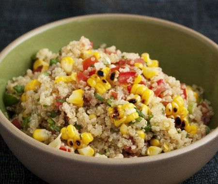 Grilled Corn & Quinoa Salad Recipe - House & Home
