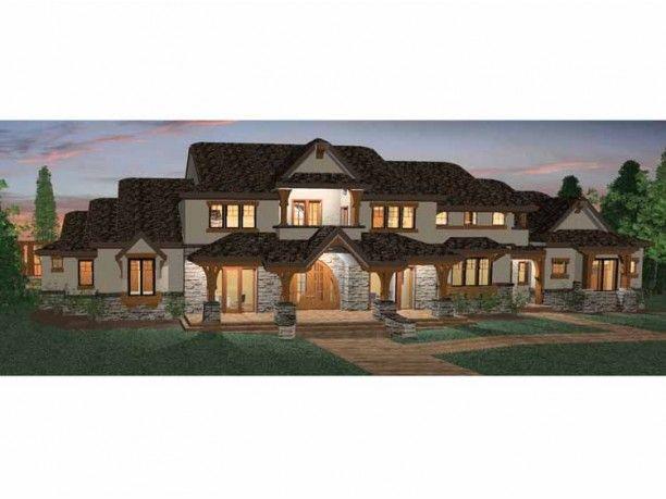 eplans prairie house plan six bedroom prairie 5155 square feet rh pinterest com six bedroom house six bedroom house