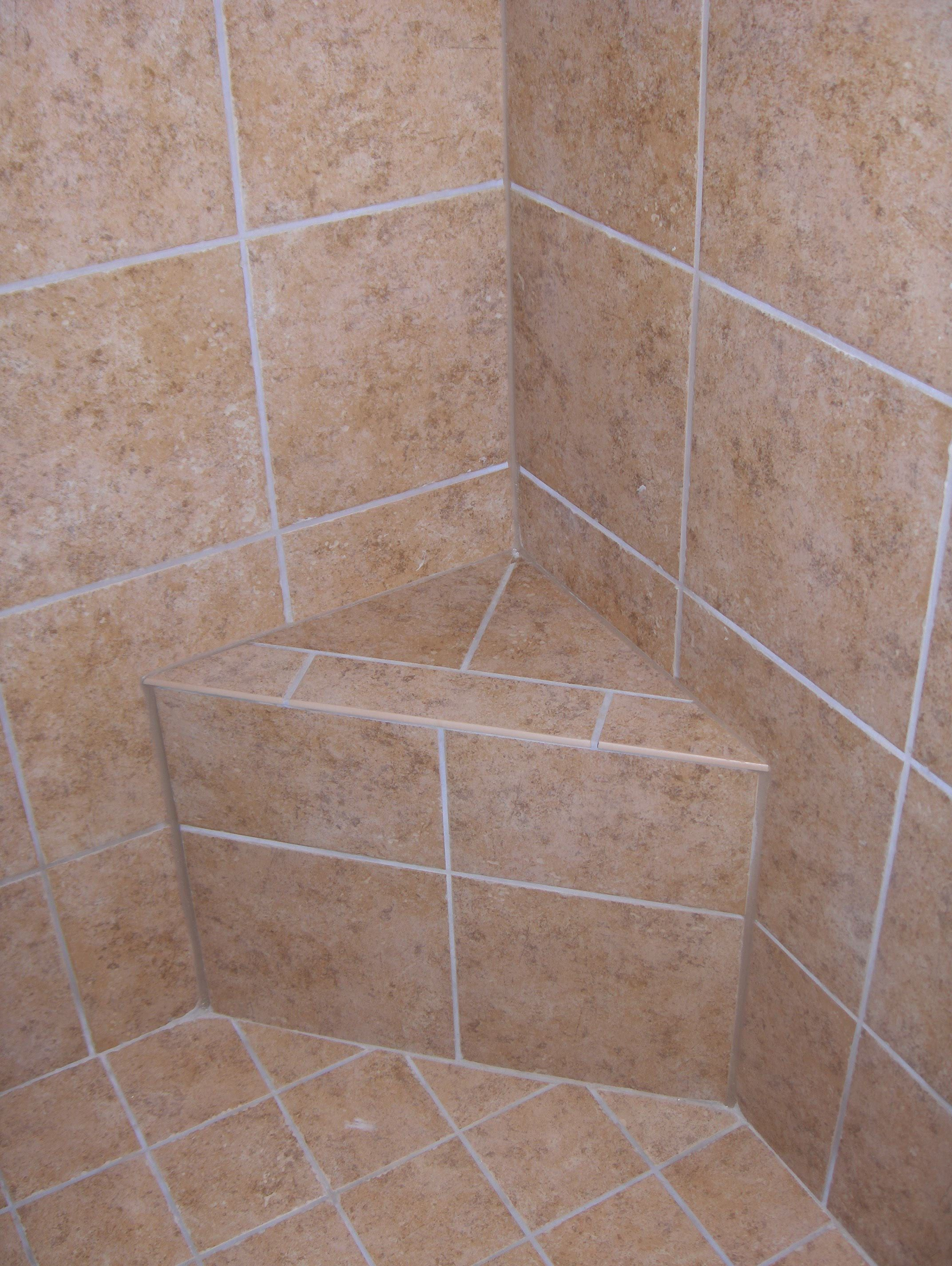 Ledge for shower stall | Bathrooms (Our Projects) | Pinterest | Diy ...
