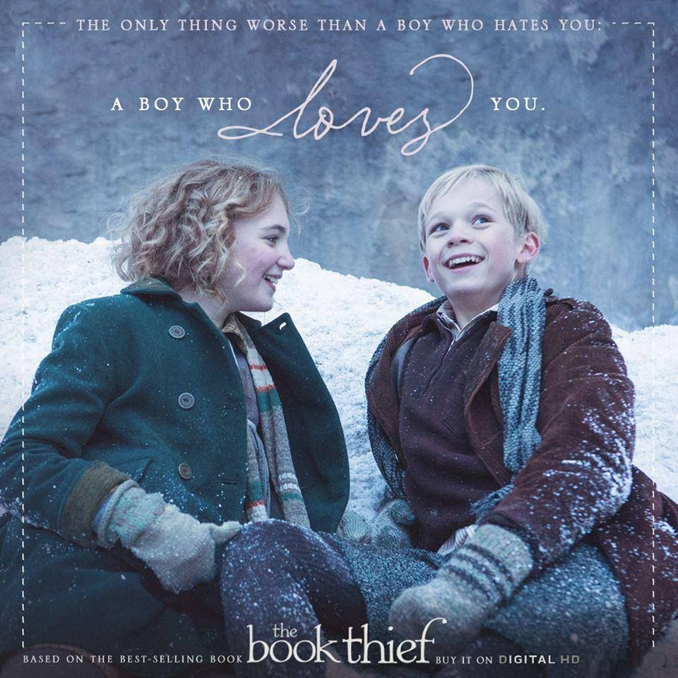 Rudy Steiner The Book Thief Quotes: The Only Thing Worse Than A Boy Who Hates You Is A Boy Who