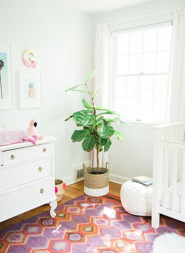 Pink Purple Bohemian Nursery Inspired By This
