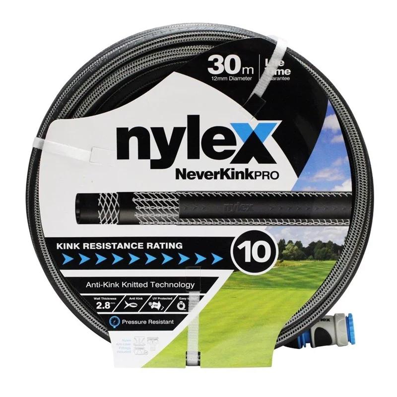 Nylex 12mm x 30m NeverKink Pro Garden Hose 50 (WAS 118