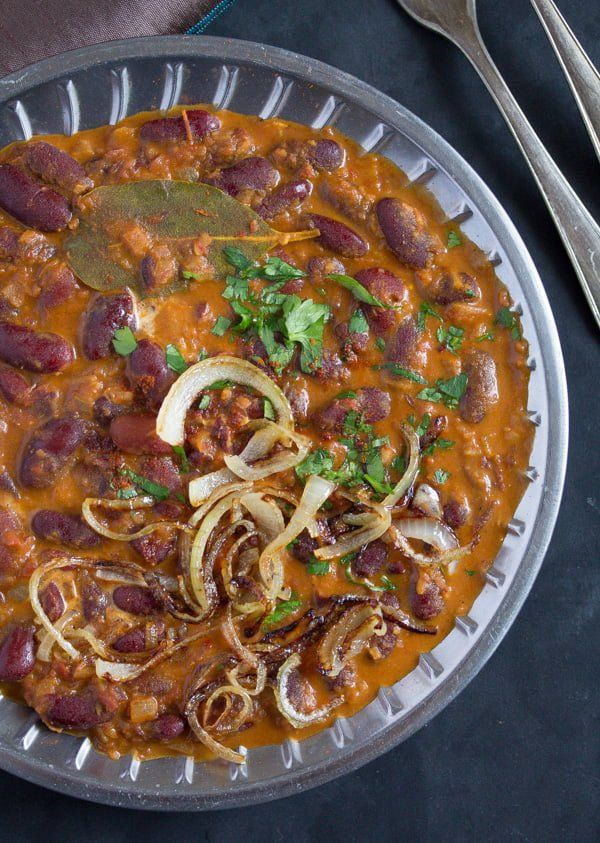 How to Make Rajma – Indian Kidney Bean Curry #howtofryonions