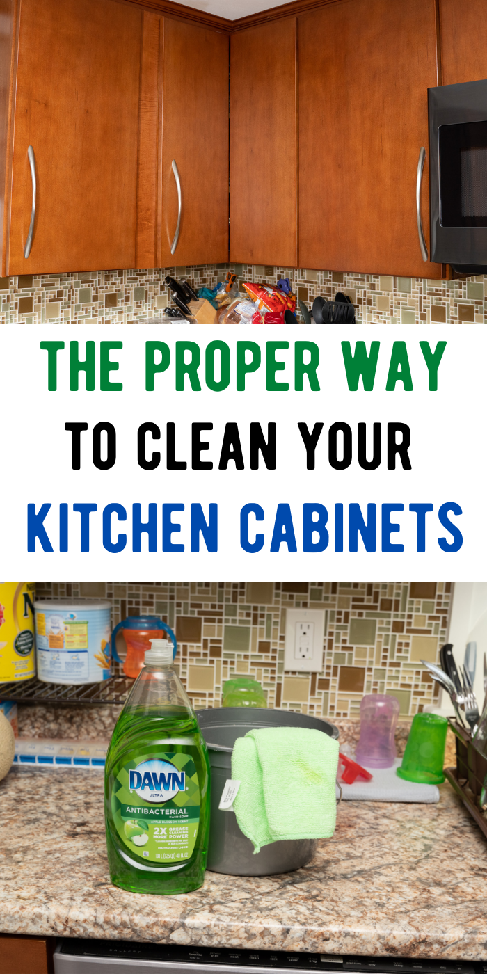 How You Should Clean Your Kitchen Cabinets In 2020 Cleaning Cleaning Techniques Household Cleaning Tips