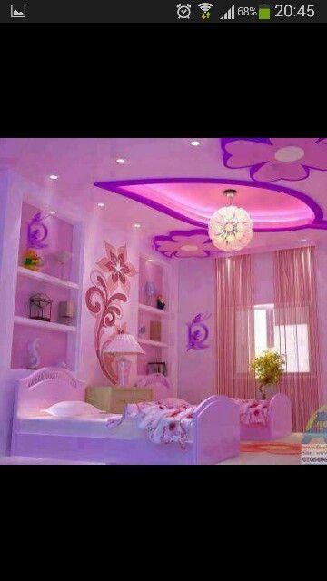 Resultado de imagen para cuartos de habitacion con colores for Cuartos decorados con yeso
