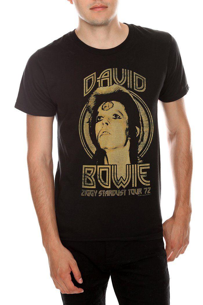 David Bowie Ziggy Stardust Tour '72 T-Shirt