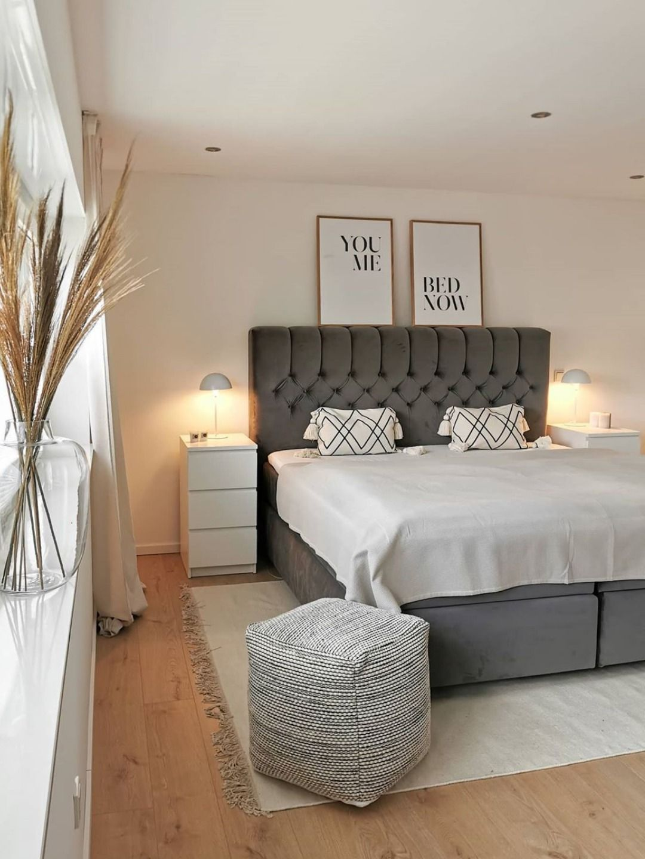 Skandinavische Einrichtung Im Schlafzimmer In 2020 Home Living