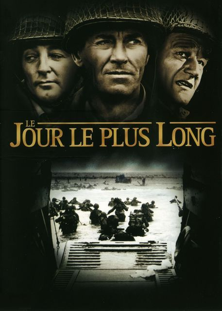 Le Jours Le Plus Long : jours, (1962), Andrew, Marton, Wayne, Richard, Burton., Telechargement,, VOD…, Long,, Guerre,, Films, Guerre