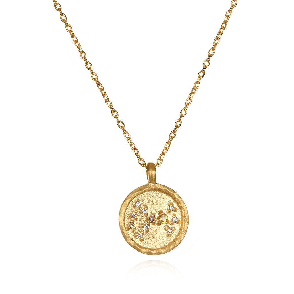 Scorpio zodiac necklace gold zodiac pinterest products