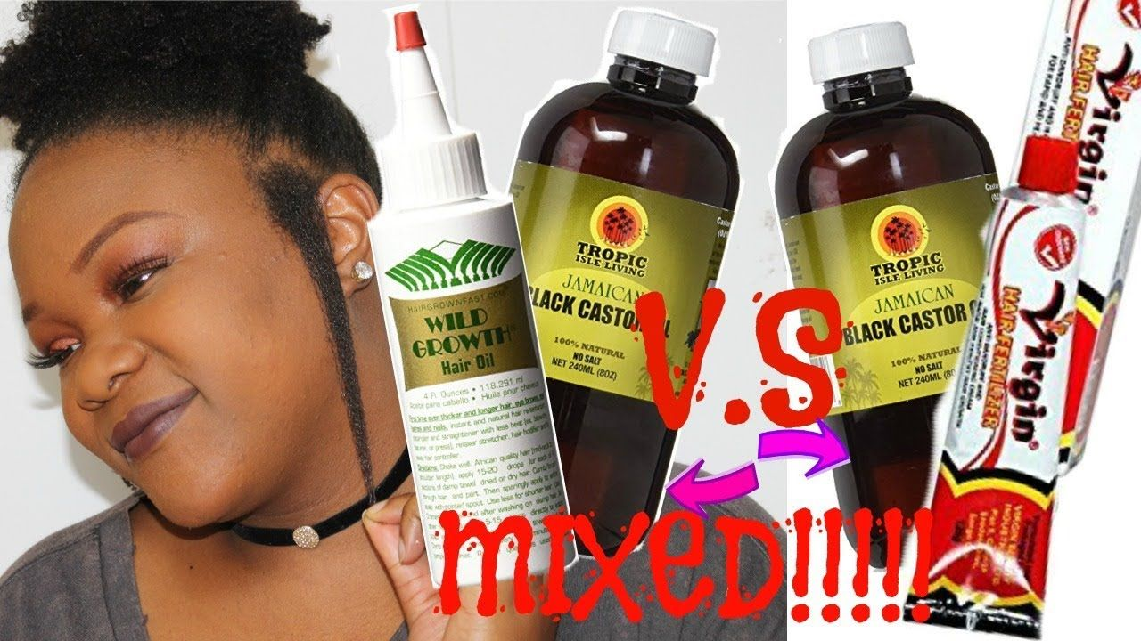 Unbelievable Results I Mixed Jamaican Black Castor Oil