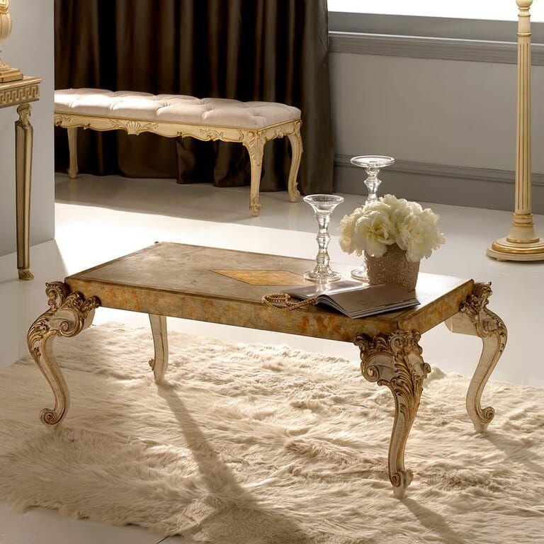 Designer Italian Luxurious Ornate Classic Coffee Table In 2020