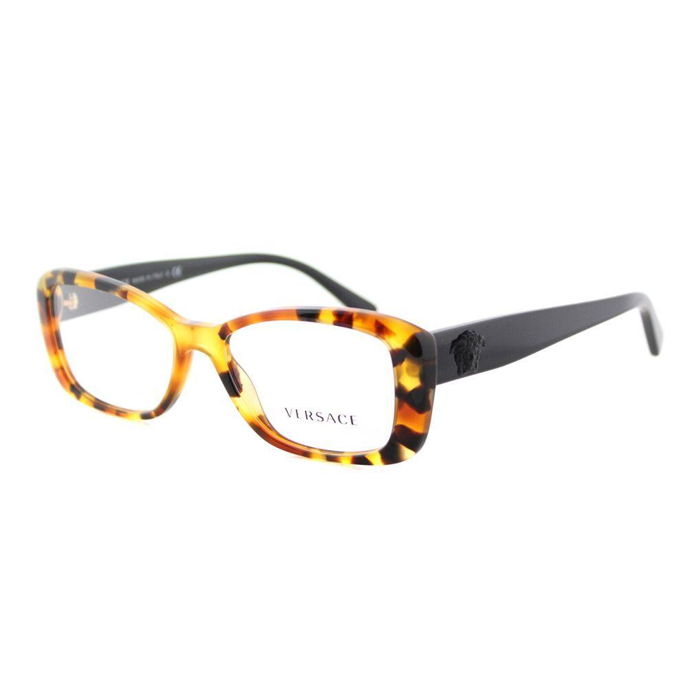 Versace Light Havana Cat-eye Eyeglasses | Products | Pinterest ...