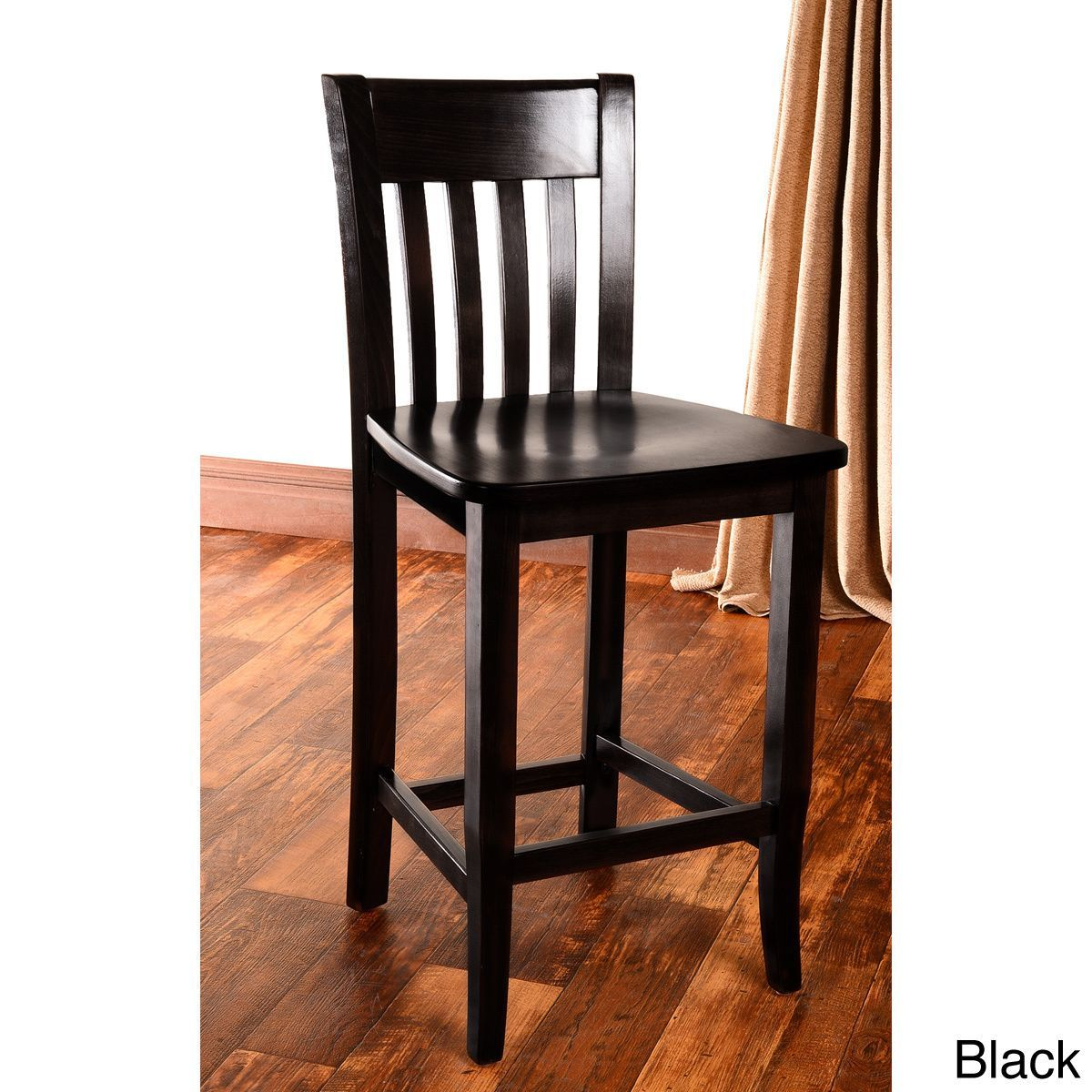 With a durable finish, this counter stool looks great in any setting. Stylish and durable, this chair makes a great addition to a bar, kitchen counter, or simply anywhere you might need an extra seat.