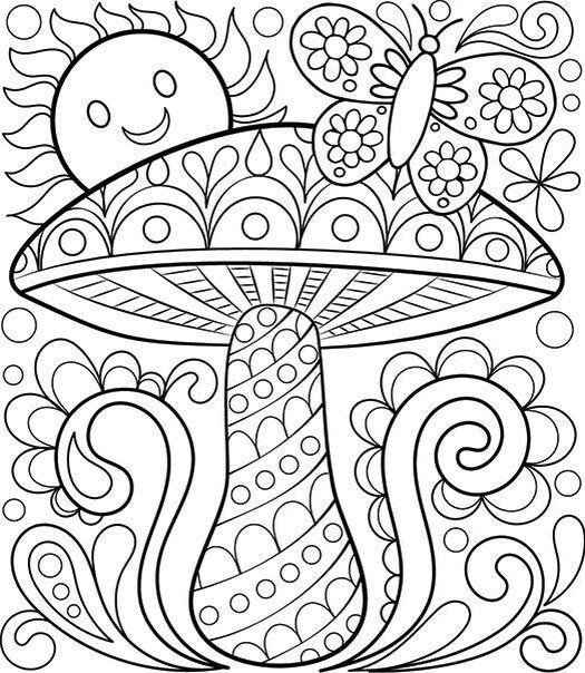 Pin de Dawn Mannino en crafts | Pinterest | Mandalas, Colorear y Dibujo