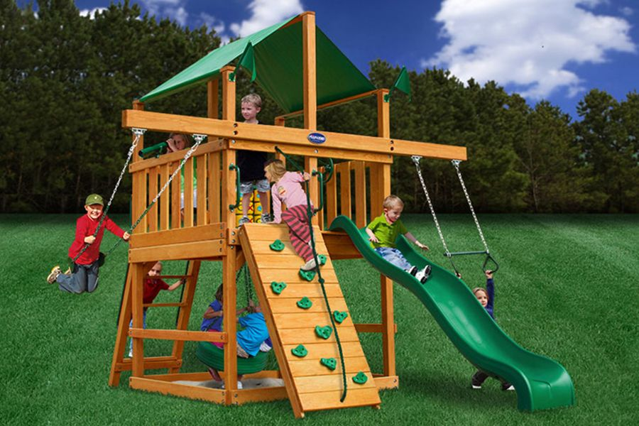 swing set add ons royal palace space saver wood swingset stuff to buy. Black Bedroom Furniture Sets. Home Design Ideas