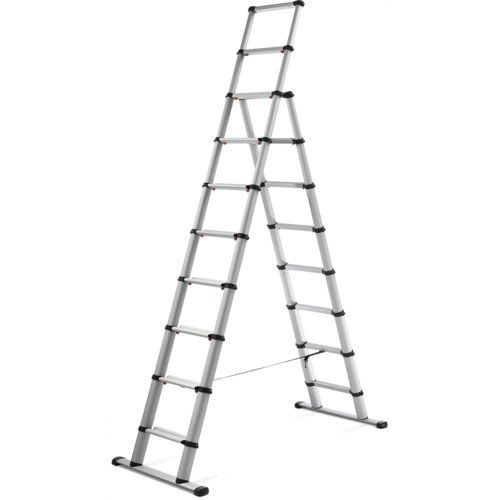 Spectre 10 Ft Aluminium Step Ladder Home Etc Metal Step Stool Wood Step Stool Step Ladders