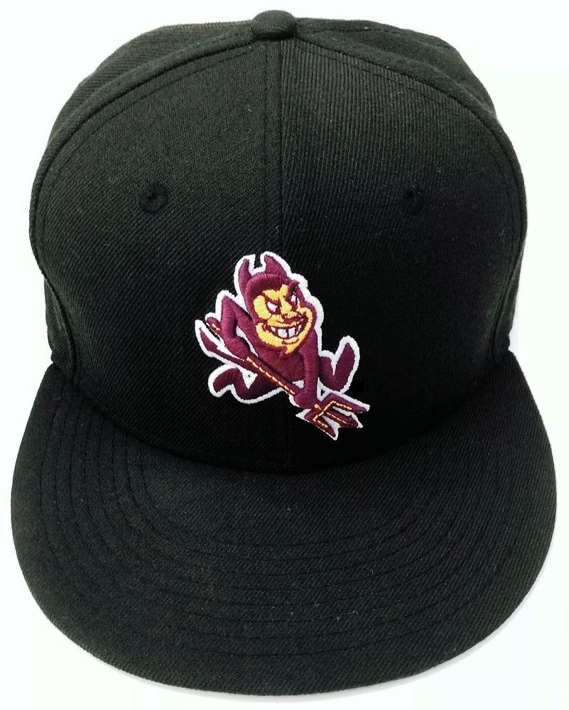 f45ad38b New Era 59Fifty Arizona State ASU Sparky Sun Devils Mascot 7.5 Fitted Hat  Rare #NewEra #NewEra59Fifty #ASUSunDevils