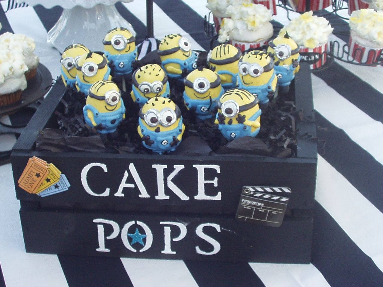 Had Minion Cake Pops From Great Dane Bakery In Los Alamitos Ca