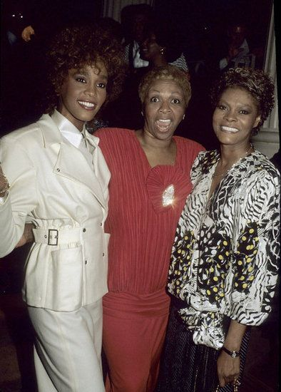 Whitney, her mother and cousin Dionne Warwick.          Relationships      Sex and Culture      Women      Wedding      Books      Award Season      More