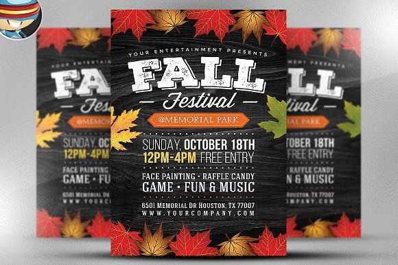 Pin By  Illustrations On Flyer Templates