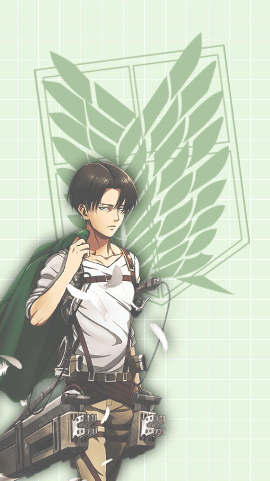 Wallpapers And Lockscreen Levi Ackerman Shingeki No Kyojin If You Attack On Titan Levi Levi Ackerman Anime Wallpaper