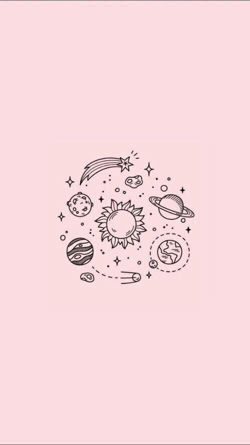 Wallpaper Background Pretty Cute Pink Tumblr Galaxy Click Here To Download Cute Wallpaper Pinterest Wallpaper Background Pretty Lukisan Huruf Ilustrasi Seni