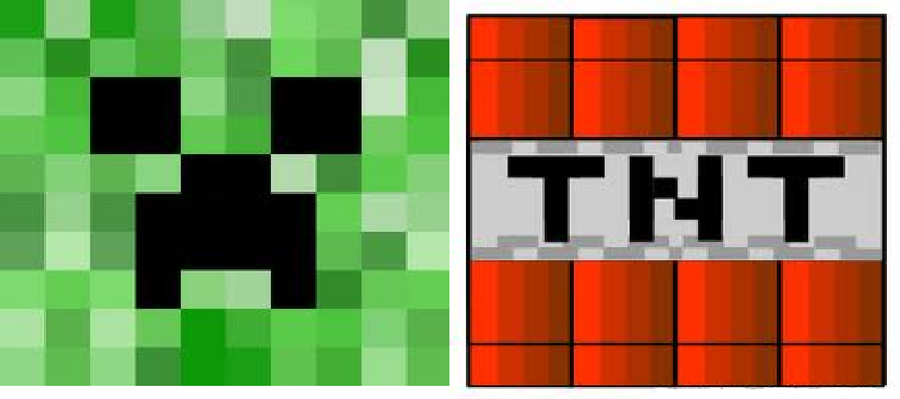 photograph relating to Minecraft Tnt Printable identify minecraft tnt printables - Google Glimpse small children Tnt